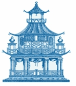 Round Placemats Pagoda