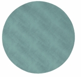 Round Placemats Snakeskin Teal