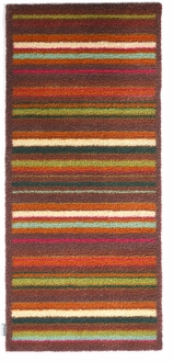 Runner Rugs Stripe Brown