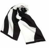 Scarves for Women Black White