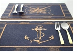 Cork Placemats Anchor