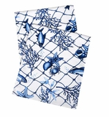 Table Runners Blue Net 90 Inch