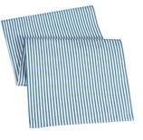 Table Runners Blue Ticking 72""