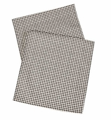 Table Runners Gingham Black