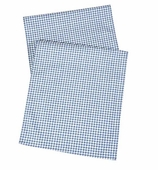 Table Runners Gingham Blue