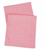 Table Runners Gingham Red