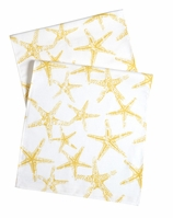Table Runners Yellow Starfish 90""