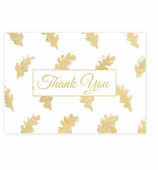 Thank You Cards Gold