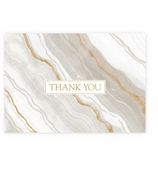 Thank You Cards Marble Gray