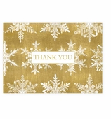 Thank You Cards Snowflake