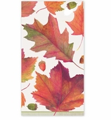 Thanksgiving Hand Towels Winter Leaves