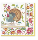 Thanksgiving Napkins Dinner Turkey