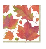 Thanksgiving Napkins Lunch Leaves
