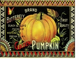Thanksgiving Placemats Pumpkin