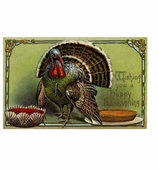 Thanksgiving Placemats Turkey