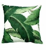 Throw Pillow Swaying Palms