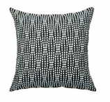 Throw Pillows for Couch Blk Strands
