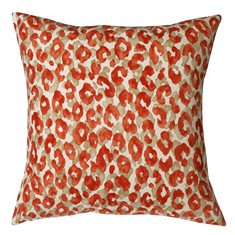 Throw Pillows For Couch Red Leo