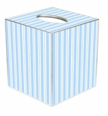 Tissue Box Cover Blue