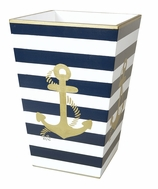 Trash Cans Nautical Anchor