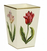 Trash Cans Red Tulip