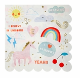 Unicorn Party Supplies Napkins