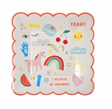 Unicorn Party Supplies Plates