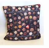 Unique Decorative Throw Pillows Chocolate