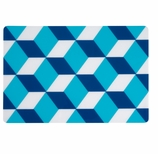 Vinyl Placemats Blue Box