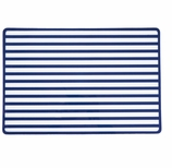 Vinyl Placemats Blue Stripe