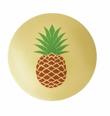 Vinyl Placemats Gold Pineapple