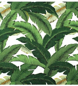 Waverly Swaying Palms Decorative Leaves Fabric