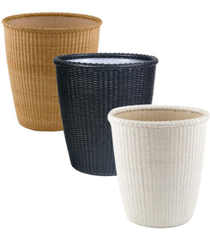 Wicker Bathroom Decor Sets