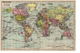Decorative Art Prints World Map