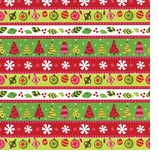 Wrapping Paper Calico Christmas