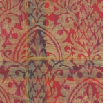 Wrapping Paper Damask Ruby