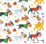 Wrapping Paper Dogs