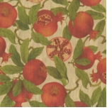 Wrapping Paper Pomegranate
