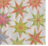 Wrapping Paper Star Silver