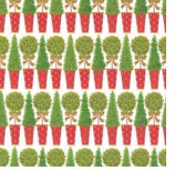 Wrapping Paper Topiary