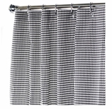 XXL Shower Curtains Black & White