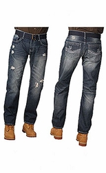 Indigo People Damien Slim Straight Leg jeans