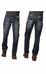 Indigo People Tristan Slim Straight Leg jeans