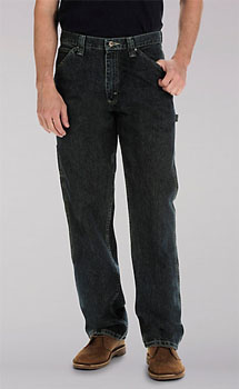 Lee Dungaree Mens Carpenter Big & Tall jeans