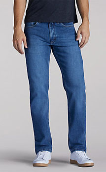 Lee Men's Premium Select Regular Straight Leg jeans - 4 colors