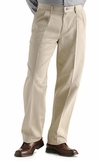 Lee Mens Stain Resistant Double Pleat pants