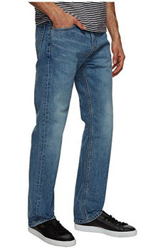 b3d8a0c0780 Levi's® Mens 505® Straight Fit jeans-$44.98-Free shipping ...