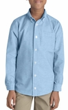 School uniforms - Dickies Boys Long Sleeve oxford shirt