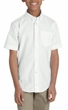 School uniforms - Dickies Boys Short Sleeve oxford shirt