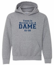 There Is Nothing Like a Dame Grey Hooded Sweatshirt